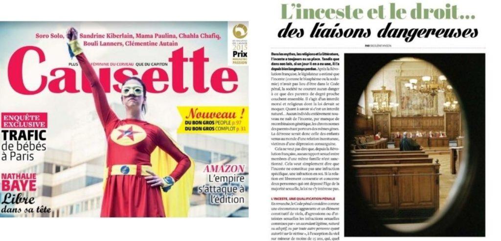 article sur Isabelle Sezionale