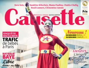 Isabelle Sezionale dans le magazine Causette