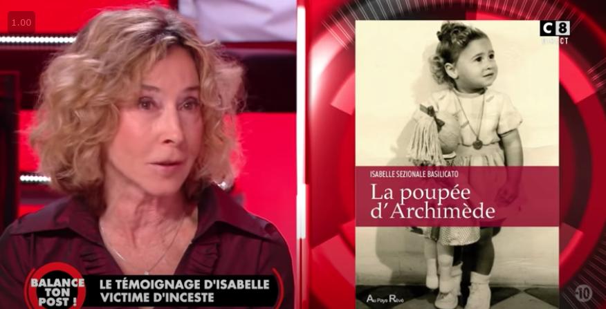 Le témoignage d'Isabelle Sezionale sur C8